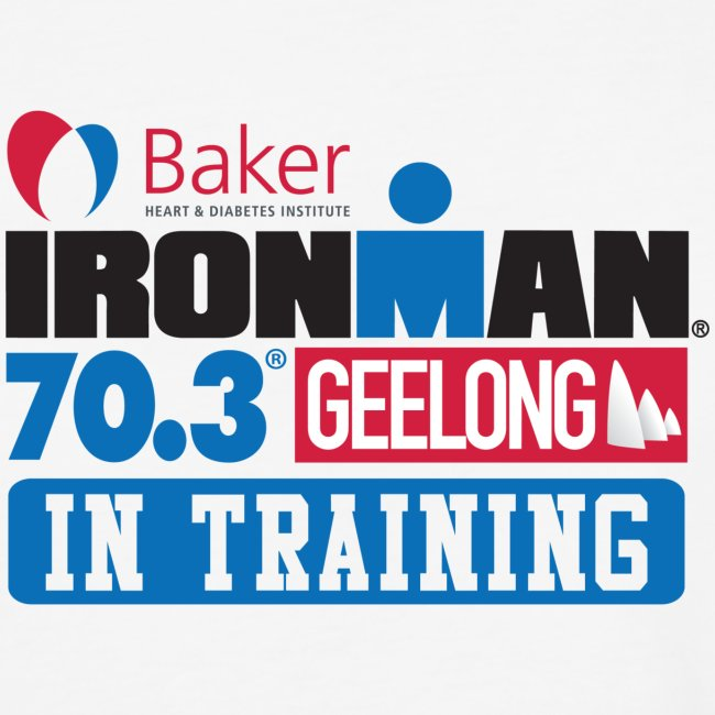 70.3 Geelong In Training Men's Baseball T-shirt