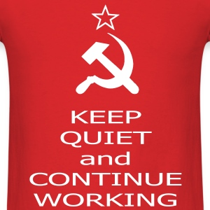 continue working T-Shirts - Men's T-Shirt
