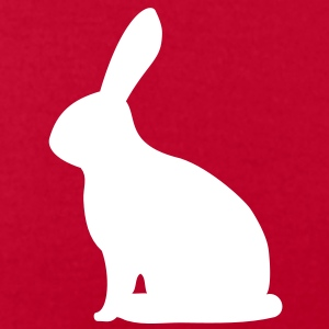 sitting bunny hare cony rabbit leveret bunnies T-Shirts - Men's T-Shirt by American Apparel