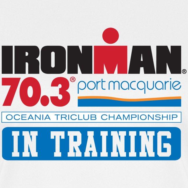 70.3 Port Macquarie In Training Women's Moisture Wicking Performance T-Shirt