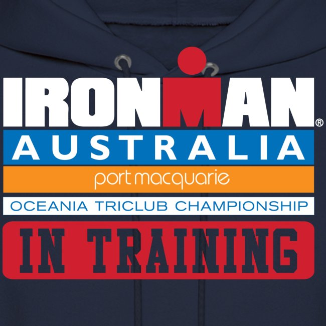 IM Australia In Training Men's Hoodie