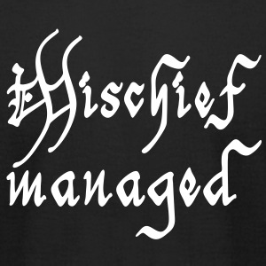 Mischief managed T-Shirts - Men's T-Shirt by American Apparel