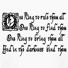One ring to rule them all Kids' Shirts