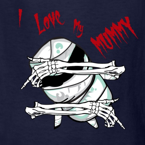 Mummy Halloween Shirt - With Skeleton Arms Gift