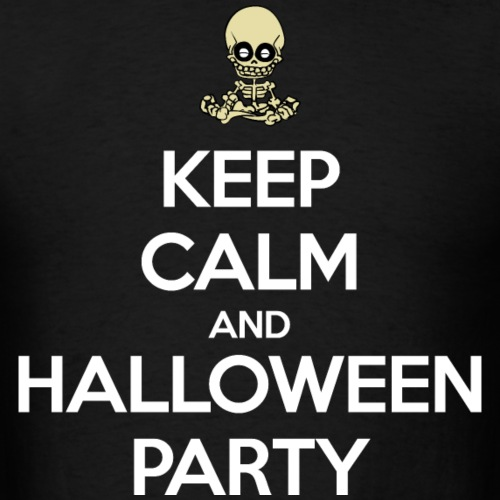 Keep Calm and Halloween Party (dark)
