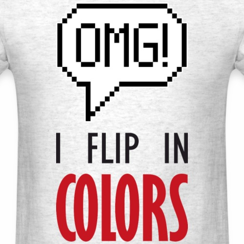I flip in colors