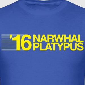 Narwhal + Platypus 2016 Yellow T-Shirts - Men's T-Shirt