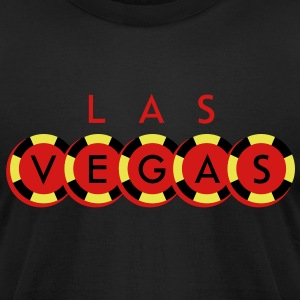 Las Vegas T-Shirts - Men's T-Shirt by American Apparel