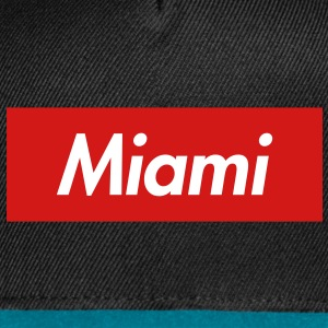 Miami Reigns Supreme Snapback - Snap-back Baseball Cap