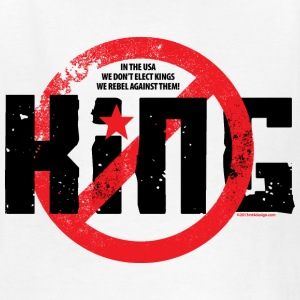 NO KING! Kids' Shirts - Kids' T-Shirt