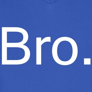 Bro. T-Shirts - Men's V-Neck T-Shirt by Canvas