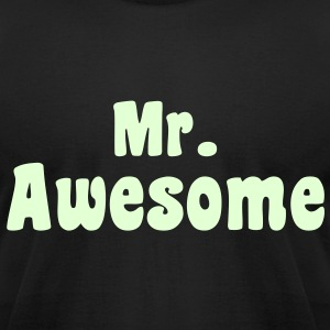 Mr. Awesome - KCCO T-Shirts - Men's T-Shirt by American Apparel