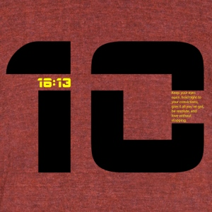 1 Cor. 16:13 - Unisex Tri-Blend T-Shirt by American Apparel