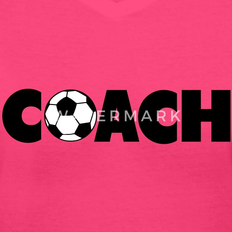 Soccer coach t shirt spreadshirt for Soccer coach polo shirt