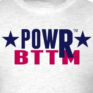 POWRBTTM (Power Bottom) - Men's T-Shirt
