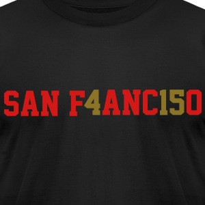 San Francisco, the 415 T-Shirts - Men's T-Shirt by American Apparel