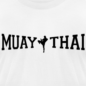Muay Thai T-Shirts - Men's T-Shirt by American Apparel