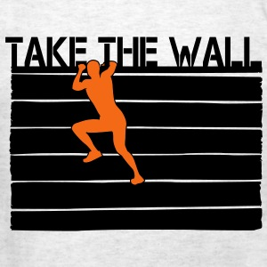Obstacle Racing - Take the Wall - Men's T-Shirt