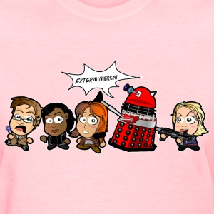 Chibi Doctor Who - Journey's End Women's T-Shirts - Women's T-Shirt