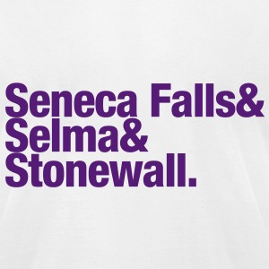 Seneca Falls & Selma & Stonewall. - Men's T-Shirt by American Apparel