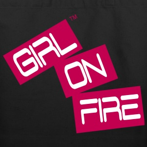 GIRL ON FIRE Bags  - Eco-Friendly Cotton Tote