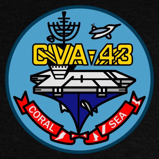 USS CORAL SEA 1964-65 CRUISE SHIRT
