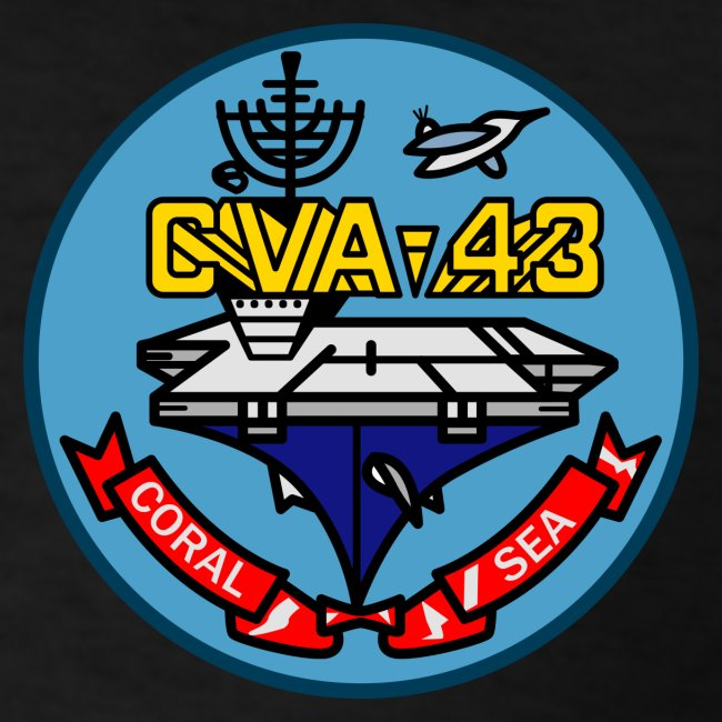 USS CORAL SEA 1971-72 CRUISE SHIRT