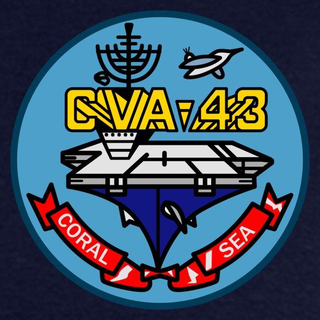 USS CORAL SEA 1969-70 CRUISE SHIRT