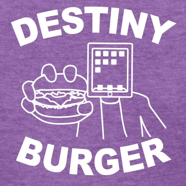 Destiny Burger - White (Women's)