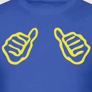Thumbs pointing at me T-Shirts - Men's T-Shirt