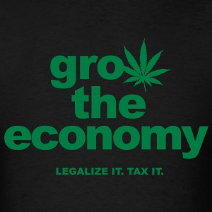 Grow the Economy Men's T - Men's T-Shirt