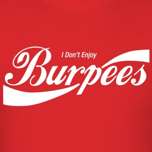 Enjoy Burpees - Red - Men's T-Shirt