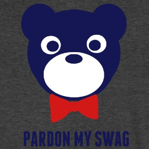 PARDON MY SWAG - Men's V-Neck T-Shirt by Canvas
