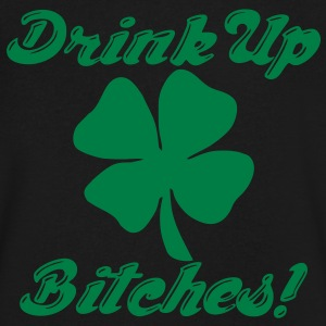 Drink Up Bitches! T-Shirts - Men's V-Neck T-Shirt by Canvas