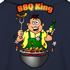 BBQ King Hoodies