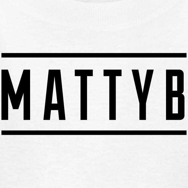 Kids White MattyB Logo