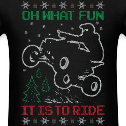 ATV Quad Ugly Christmas