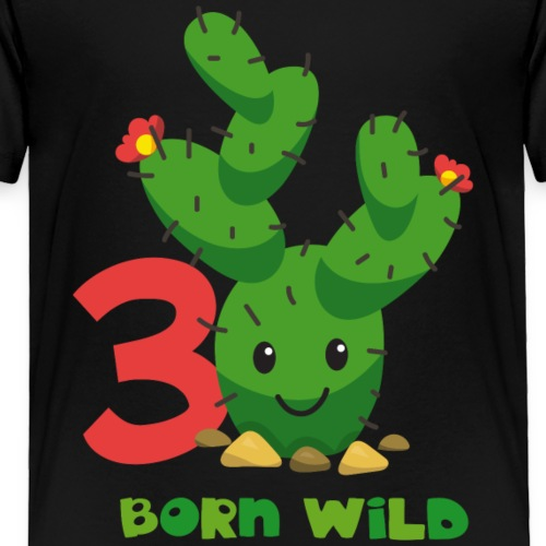 Cute Cactus 3rd Birthday