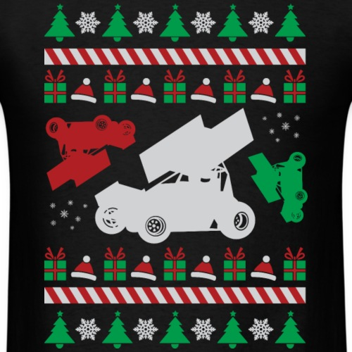 Sprint Car Ugly Christmas