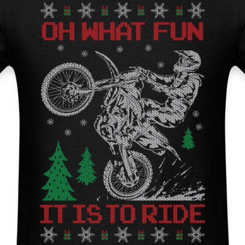 Motocross Ugly Christmas