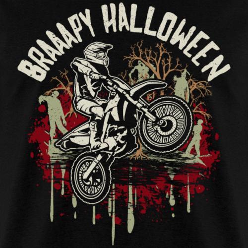 Dirt Bike Happy Halloween