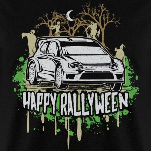 Rally Car Halloween