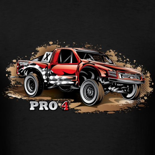 Pro4 Race Red Pocket