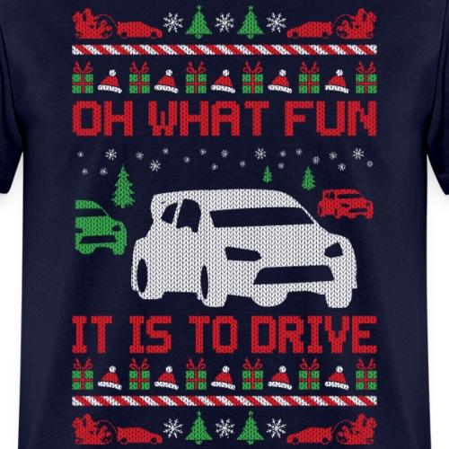 Rally Car Race Christmas