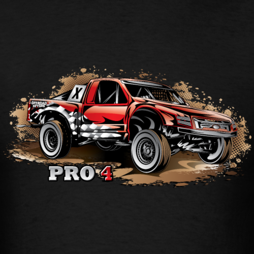 Pro4 Race Truck Red