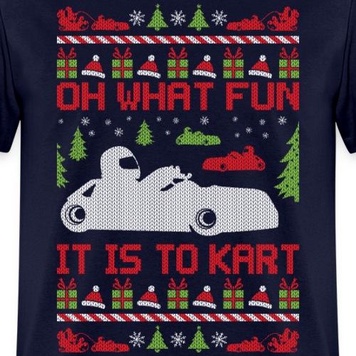 Ugly Christmas Go Kart
