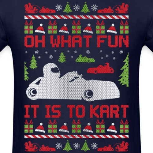 Ugly Christmas Go Kart