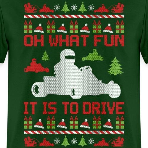Go Kart Ugly Christmas