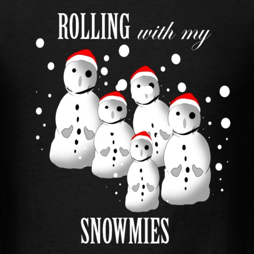 Funny Gangsta Snowmen Ugly Christmas Sweater-Funny