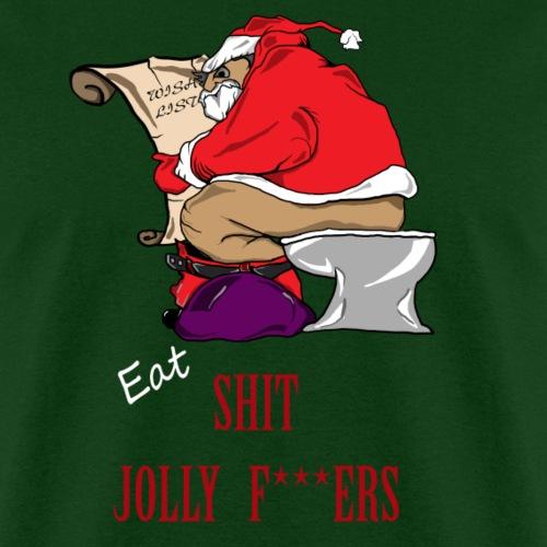 Funny Rude Santa Ugly Christmas Sweater-Funny Xmas